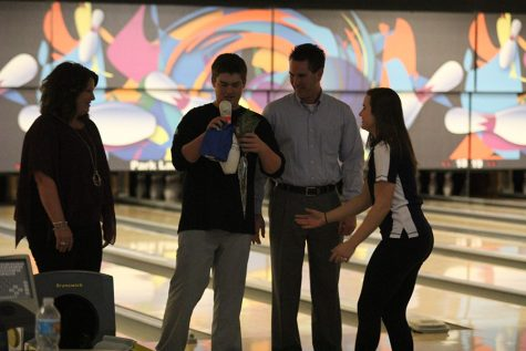 Bowling team holds annual senior night