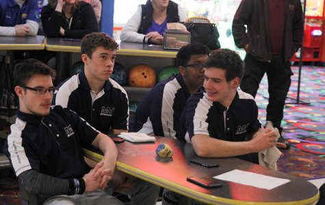 The bowling team has grown close this past season. 'It's a good group of guys and this year has been a lot of fun,