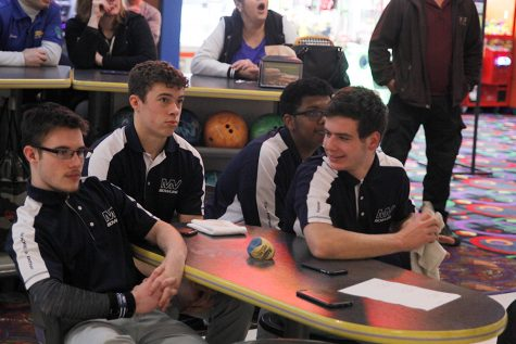 Boys bowling team grows closer through the sport