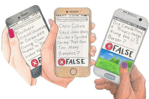 Staff Editorial: Students should be thinking critically about the news they ecounter