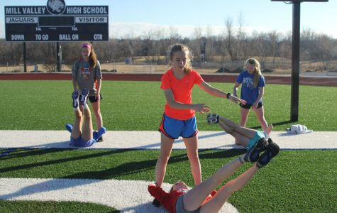 To prepare for the spring season, students partake in offseason training