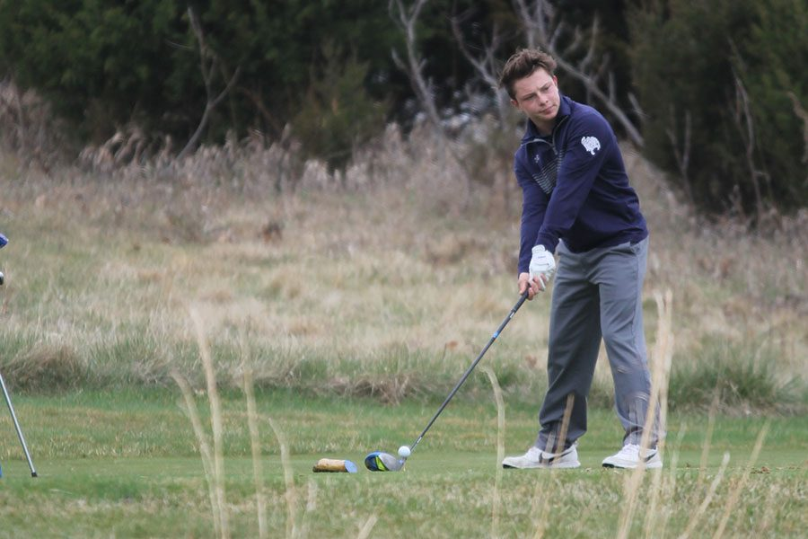 On Monday, March 27 the boys golf team competed in a tournament at Lions Gate Golf Course. The team finished
