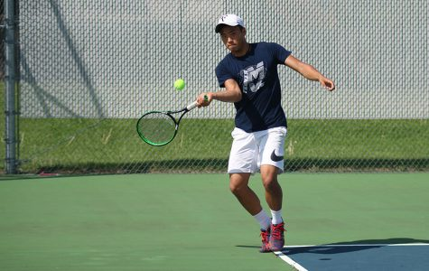 Boys tennis defeated in tournament at home
