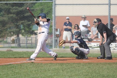 Baseball team loses in first round of state tournament