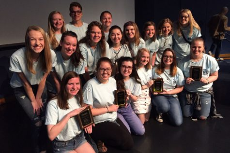 Journalism places second at KSPA state competition