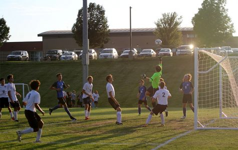 Boys soccer team wins first game of the season