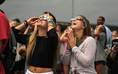 Students and staff witness historic solar eclipse