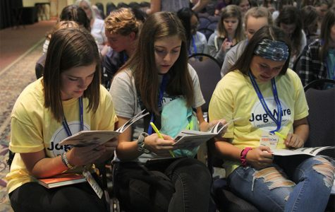 Journalism students attend fall conference in Topeka