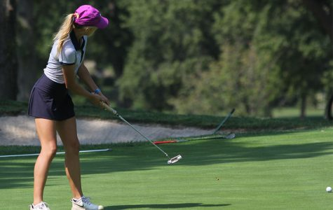 Girls golf places fifth at Shawnee Mission East Invitational