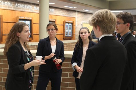 Debate competes in both Washburn Rural High School and St. James Academy tournaments