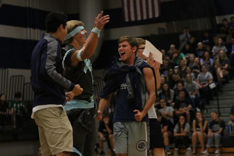 Homecoming week wraps up with a spirit-filled pep assembly