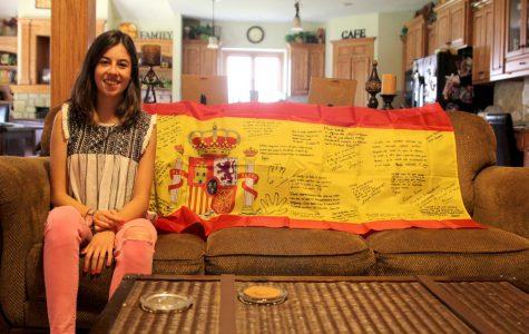Senior foreign exchange student Elena Camazón builds friendships