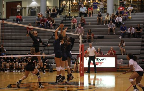 Volleyball falls to Blue Valley West, Blue Valley Southwest