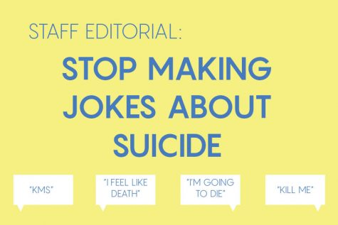 Staff editorial: Stop joking about suicide