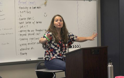 New debate teacher encourages students to participate in and out of debate classroom