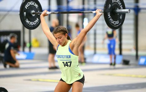 Sophomore Ellie Kerstetter competes in international CrossFit competitions