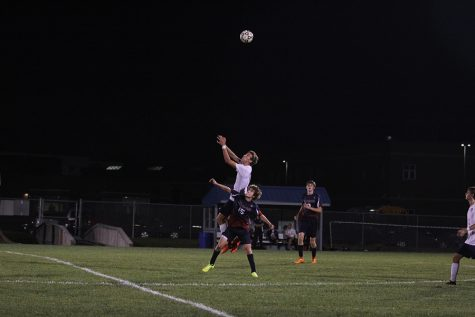 Boys soccer defeats Topeka Seamen in first game of week