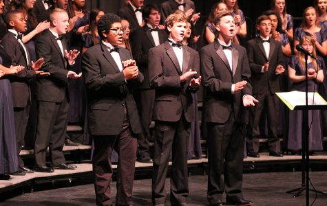 Choir performs in first concert of the year