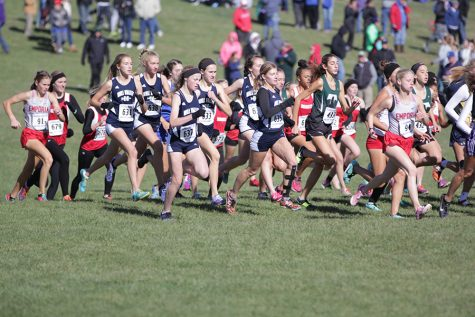 Boys and girls cross country named runner-ups in Kansas State Championships