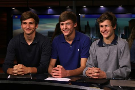 Broadcast students tour Fox 4 News studio