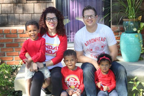 New English teacher adopts three children despite difficult adoption process