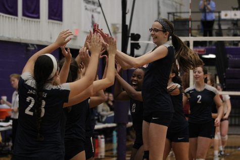 Volleyball falls to St. James in substate semifinals