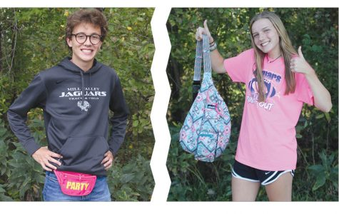 Students compare trending bag styles