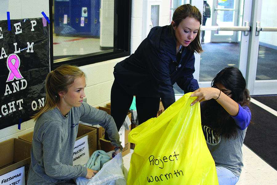 During the week of Oct. 23, MV Outreach held a coat drive called