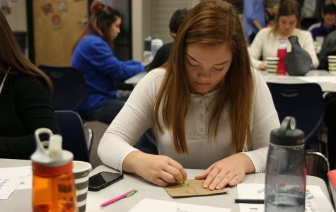 "Spanish classes celebrate Mexican holiday ""Dia de los Muertos"""