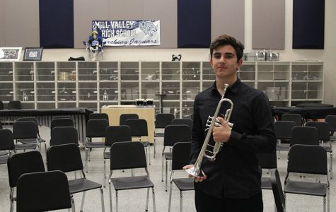 At the start of this year, freshman Jason Kingsbury purchased a professional grade trumpet for $3,000.