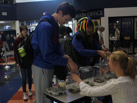 Spanish National Honor Society hosts successful coin drive