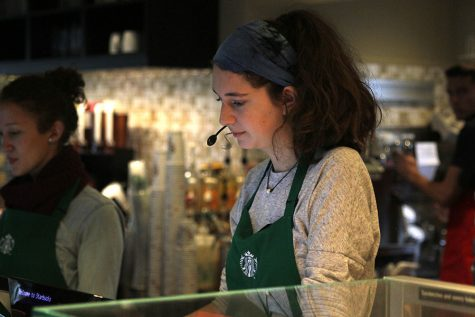 Starbucks offers a meeting spot for students