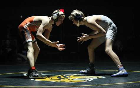 Wrestling team finishes fourth in Bobcat Classic