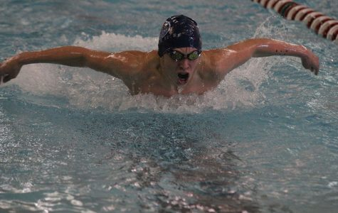 Boys swim finishes third at Blue Valley West Invitational