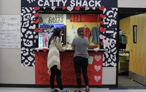 The Catty Shack sells Catty Grams for Valentine's Day