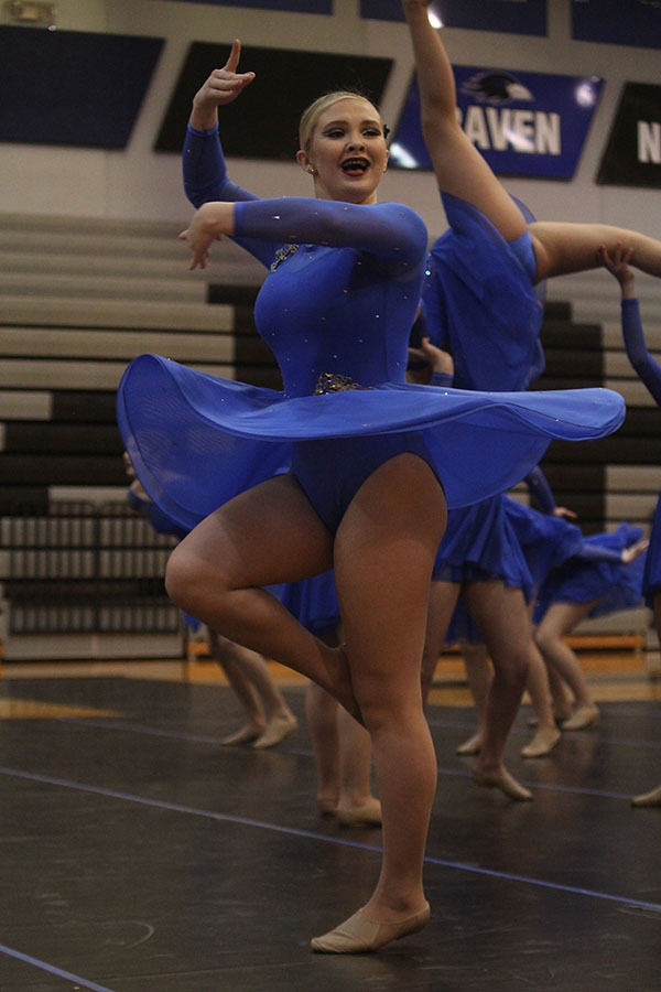 Skirt+flowing+in+the+air%2C+freshman+Jenna+Haase+finished+her+dance.