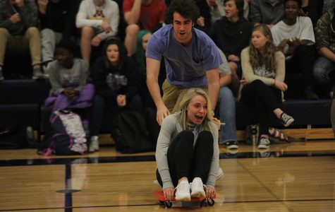 Winter homecoming week comes to end with pep assembly