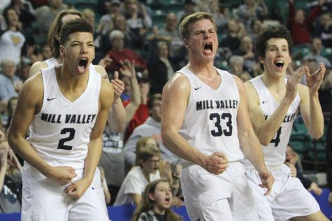 Boys basketball falls to Bishop Carroll 58-47 in state semifinals