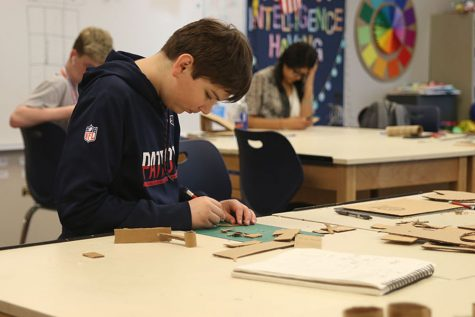 Fine arts classes provide students with creative outlets during the school day