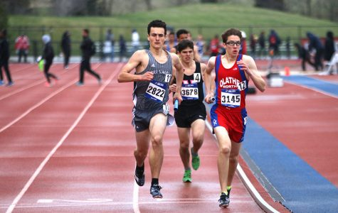 Track and field teams compete at Kansas Relays