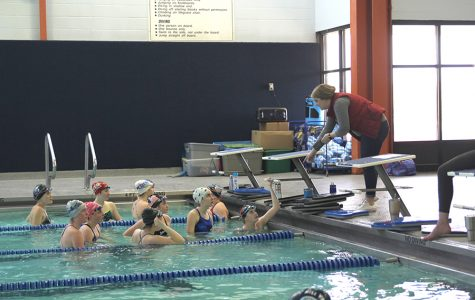 Swim teams suffer from ventilation issues at practice pool