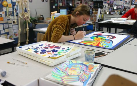 Photo Gallery: Fine arts classes give students unique opportunities to express themselves