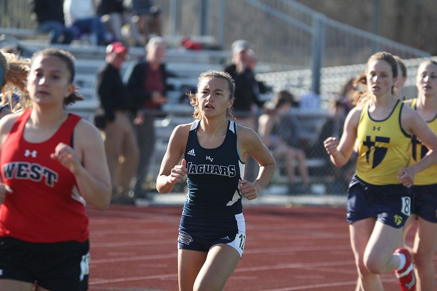 Both track teams place first at home invitational