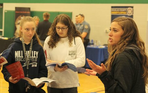 Students attend the De Soto school district's first career fair