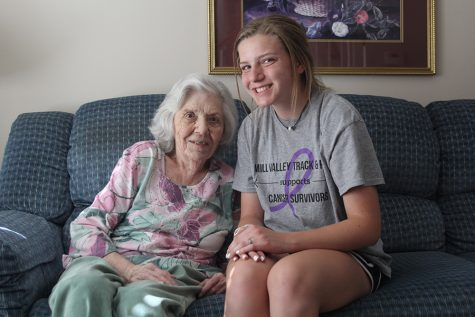 Students and grandparents bond after living together
