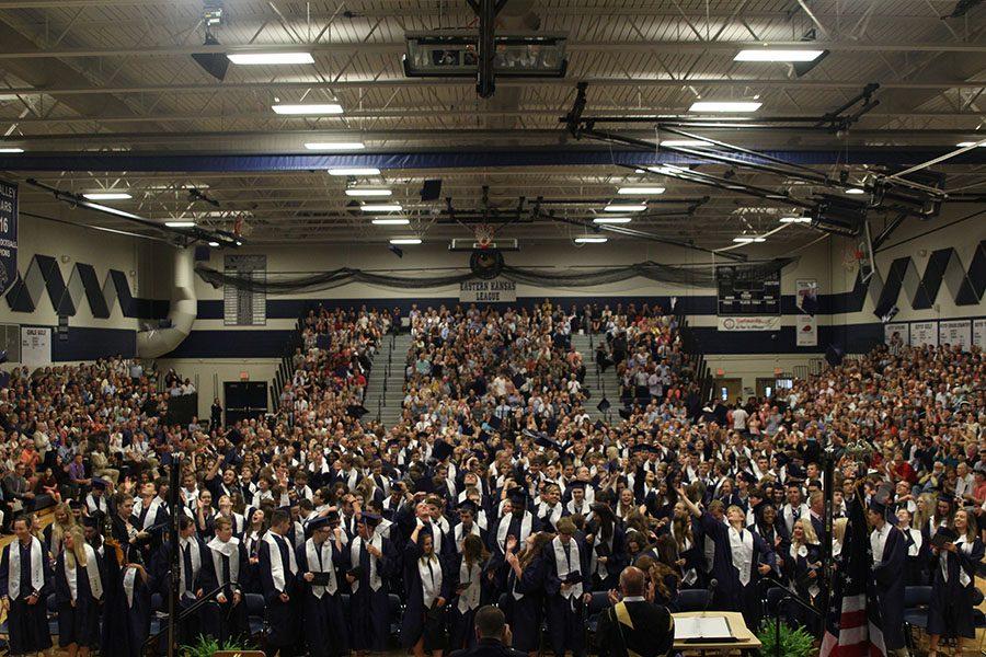 Class of 2018 celebrates graduation indoors