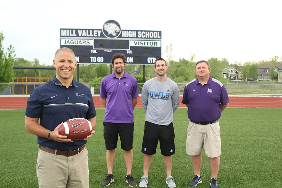 "After spending time coaching at Mill Valley, coaches Mike Strack, TJ O'Neil and Rick Pollard are moving on to become head coaches at other high schools. ""Ultimately we are going to make our decisions on what's best for the kids, so we can get the most out of every player in the program,"" said head football coach Joel Applebee."