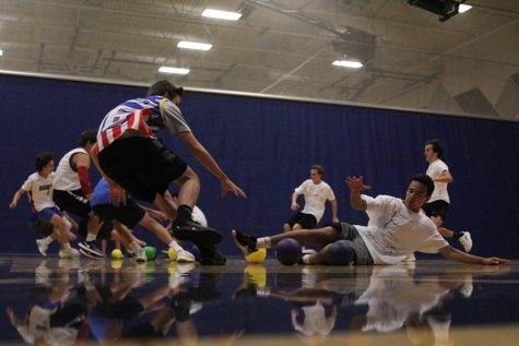StuCo holds annual dodge ball tournament