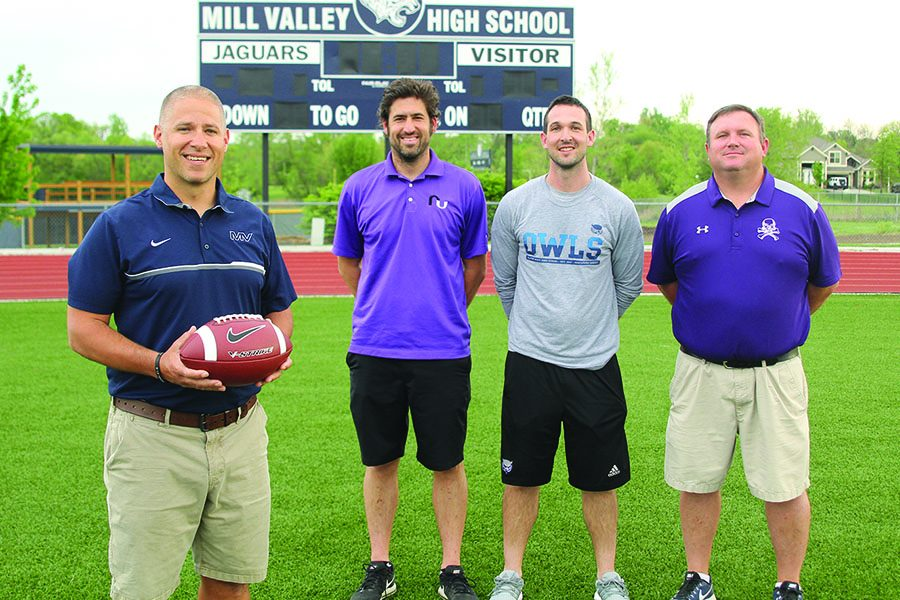 "After spending time coaching at Mill Valley, coaches Mike Strack, TJ O'Neil and Rick Pollard are moving on to become head coaches at other high schools. ""Ultimately we are going to make our decisions on what's best for the kids, so we can get the most out of every player in the program,"" Applebee said."