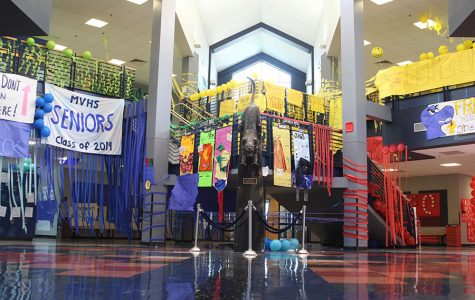 Gallery: students decorate for Homecoming week
